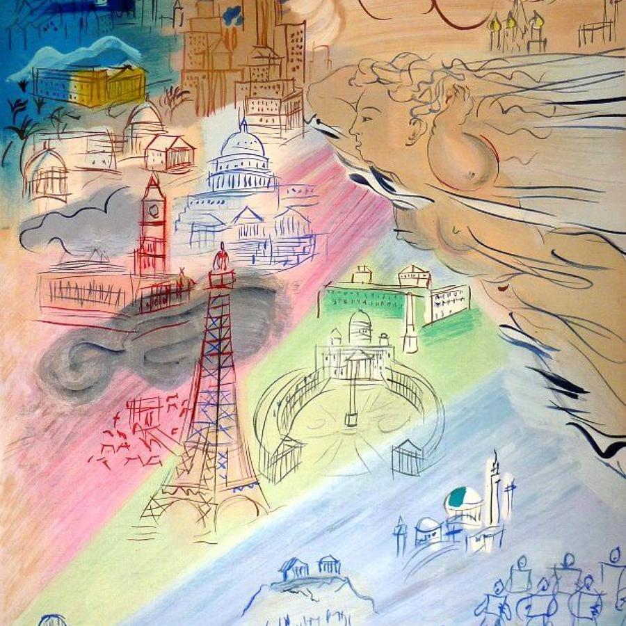 Raoul Dufy  -  La Fée Electricité
